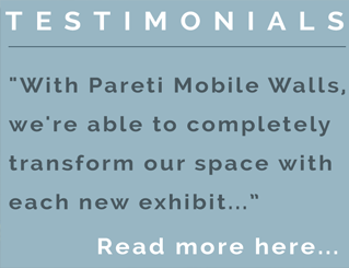 2testimonial pareti portable trade show walls