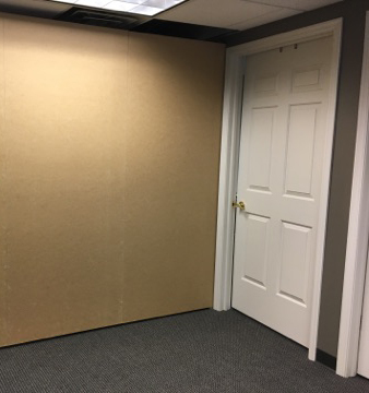 build out portable walls