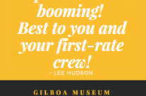 Testimonial from The Gilboa Museum
